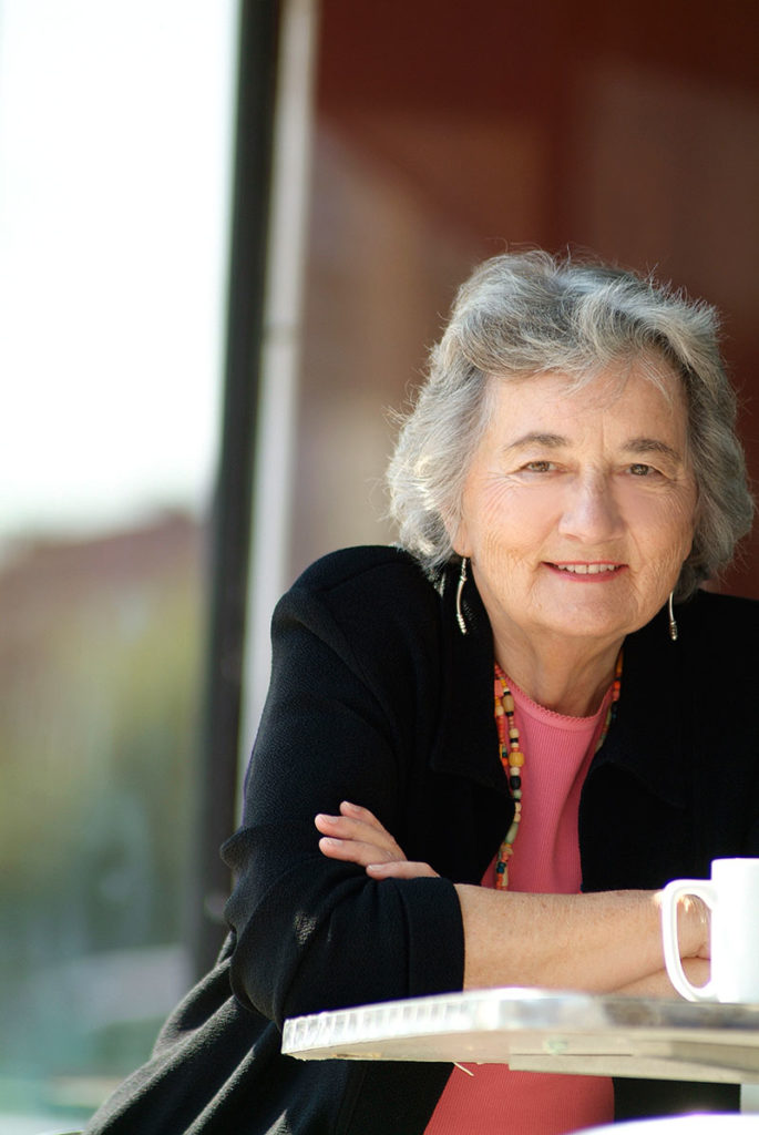 Katherine Paterson. Photo by Simon Hurst.