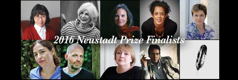 The 2016 Neustadt Prize Finalists