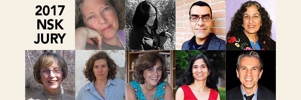The jury for the 2017 NSK Neustadt Prize for Children's Literature