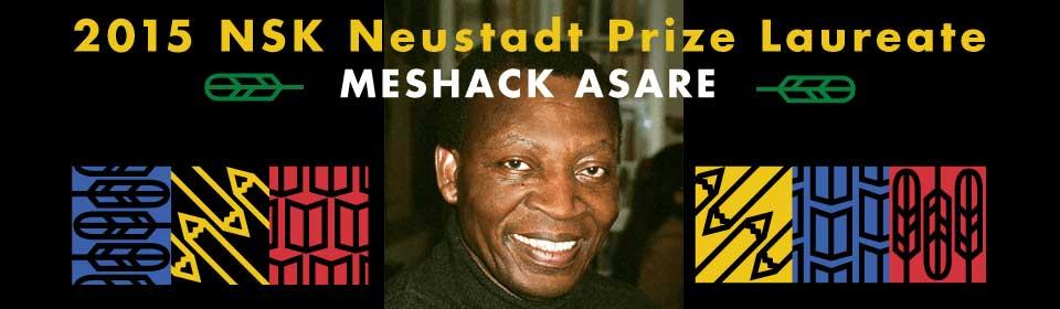 2015 NSK Neustadt Prize Laureate Meshack Asare