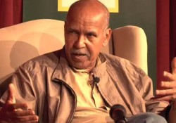 Nuruddin Farah in a video interview.
