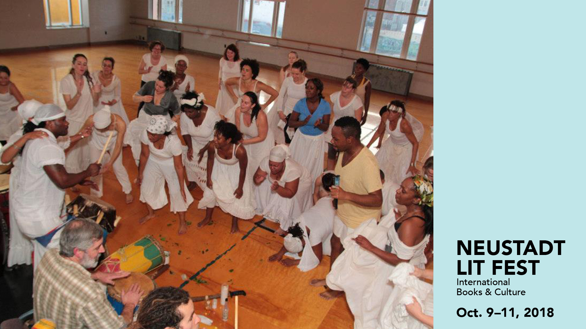 2018 Neustadt Community Dance and Drum Workshop