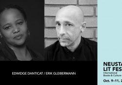 Edwidge Danticat and Erik Gleibermann