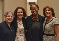 Nancy Barcelo, Kathy Neustadt, Edwidge Danticat, and Susan Neustadt Schwartz