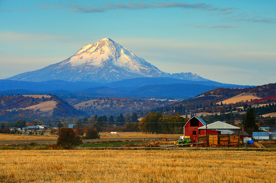 View of Mount Hood