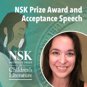 NSK Prize Award and Acceptance Speech